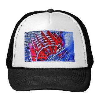 Steamboat Paddle Wheel Trucker Hat
