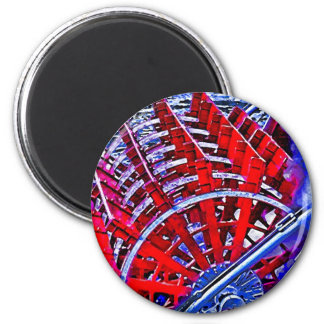 Steamboat Paddle Wheel Magnet