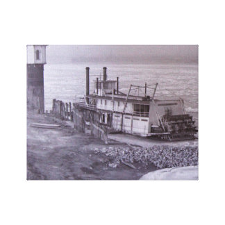 Steamboat Parker Canvas Print