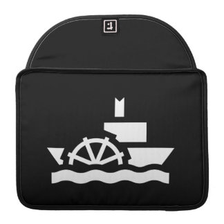 Steamboat Pictogram MacBook Pro Sleeve