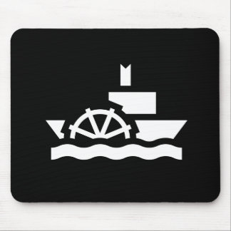 Steamboat Pictogram Mousepad