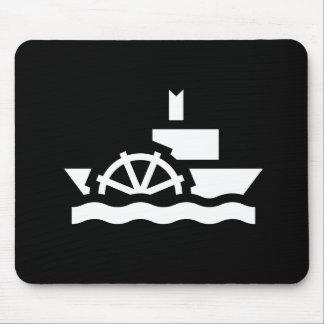 Steamboat Pictogram Mousepad