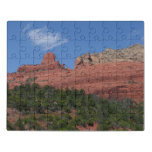 Steamboat Rock in Sedona Arizona Photography Jigsaw Puzzle