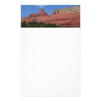 Steamboat Rock in Sedona Arizona Photography Stationery
