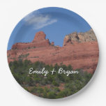 Steamboat Rock Paper Plate