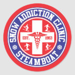 Steamboat Snow Addiction Clinic Sticker