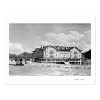Steamboat Springs, CO Lodge and Cabins Photograp Postcard