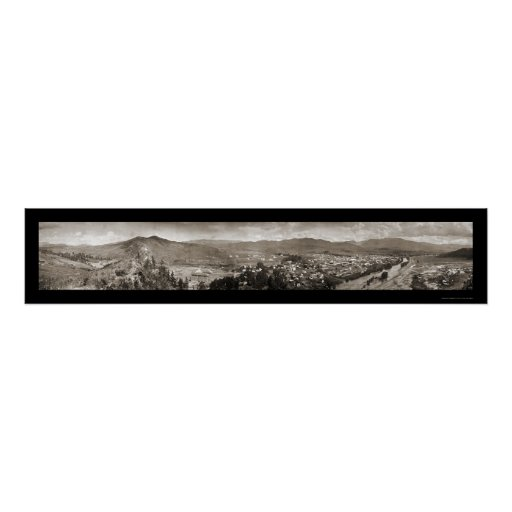 Steamboat Springs CO Photo 1909 Poster
