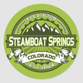 Steamboat Springs Color Logo Sticker