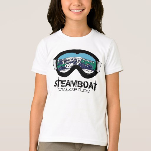 Steamboat springs colorado goggles girls tee zazzle for T shirt printing in colorado springs