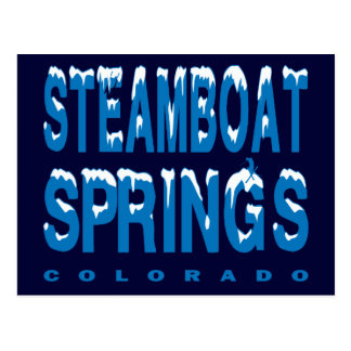 STEAMBOAT SPRINGS, COLORADO POSTCARD