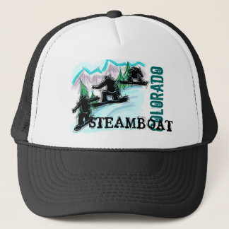 Steamboat Springs Colorado snowboard hat