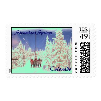 Steamboat Springs Colorado stamp