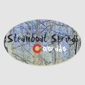 Steamboat Springs Colorado sticker