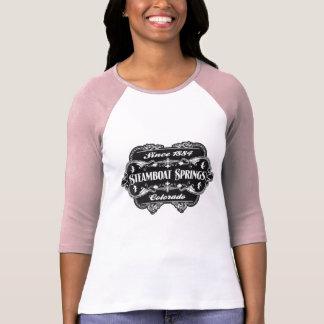 Steamboat Springs desde 1884 adornado Camiseta