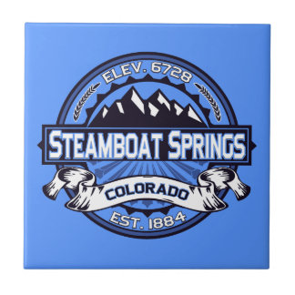 Steamboat Springs Logo Tile