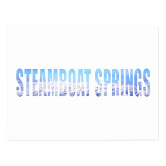 Steamboat Springs Post Card