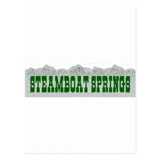 Steamboat Springs Postcard