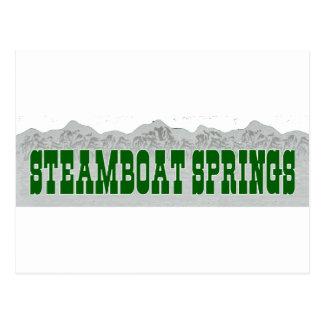 Steamboat Springs Postcards
