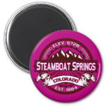 Steamboat Springs Raspberry Magnets