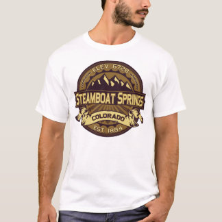 Steamboat Springs Sepia T-Shirt