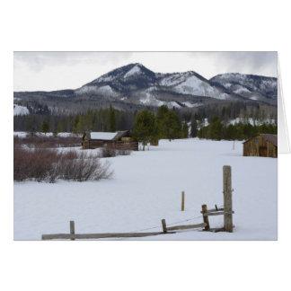 Steamboat Springs Snow card