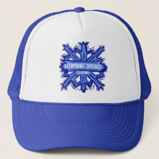 Steamboat Springs snowflake hat
