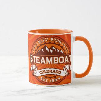 Steamboat Tangerine Mug
