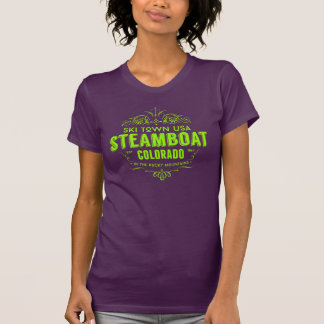 Steamboat Victorian Lime T Shirt