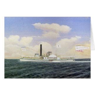 Steamboat William Tittamer Greeting Card