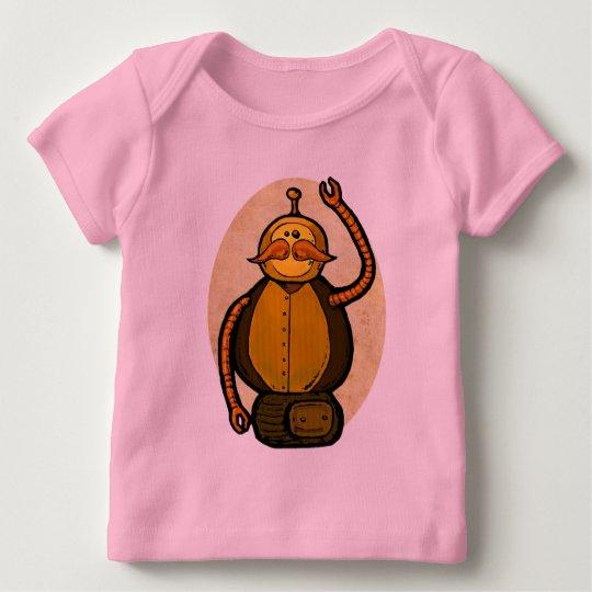Steambot Antique Robot Baby T-Shirt