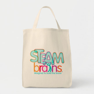 STEAMbrains Organic Grocery Tote
