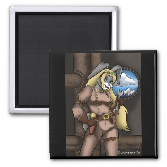 Steambunny Magnet