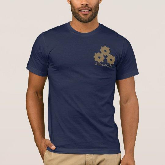 SteamCity: Triple Gear Logo T-Shirt