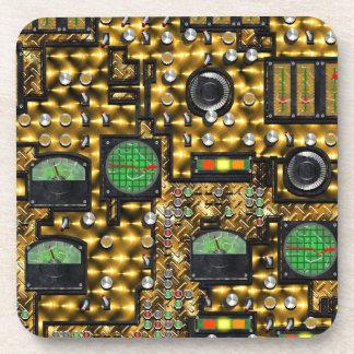 SteamControl - Brass Beverage Coaster