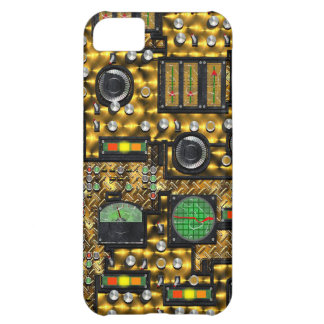SteamControl - Brass iPhone 5C Cover