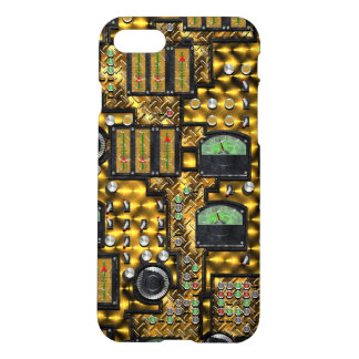 SteamControl - Brass iPhone 8/7 Case