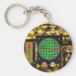 SteamControl - Brass Keychain