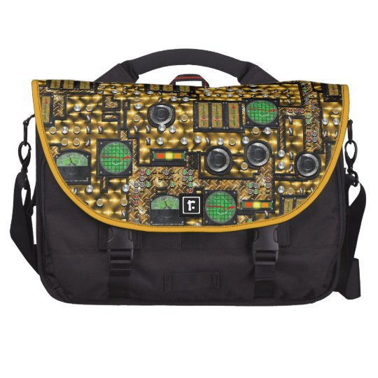 SteamControl - Brass Laptop Bags