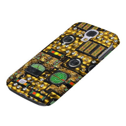 SteamControl - Brass Samsung Galaxy S4 Cover