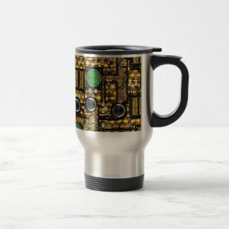 SteamControl - Brass Travel Mug