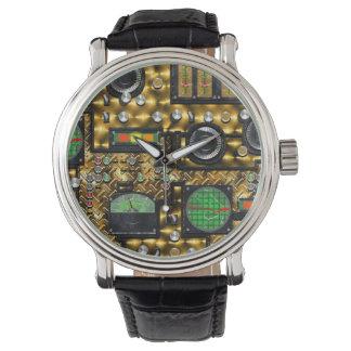 SteamControl - Brass Wrist Watches