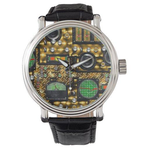 SteamControl - latón Relojes De Mano