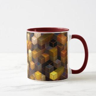 SteamCubism - Brass - Mug