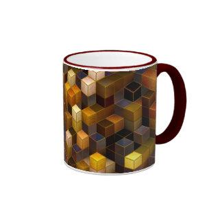 SteamCubism - Brass - Ringer Mug
