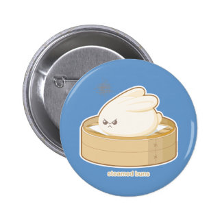 Steamed Buns 2 Inch Round Button