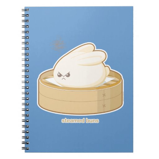 Steamed Buns Note Books