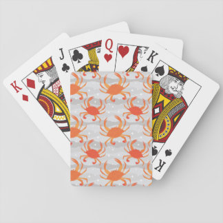 Steamed Crabs Playing Cards