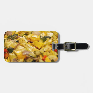 Steamed Vegetables Luggage Tag