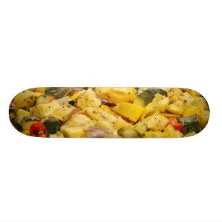Steamed Vegetables Skateboard Deck